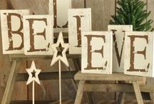 A Rustic Burlap Christmas / by Melissa Hurdle