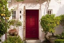 *Doors of Welcome* / A lovely front door says ... Welcome home! / by *Melissa Miller*