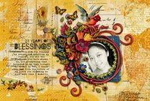 My Digital Scrapbook Art / Layouts I made using Digital Scrapbooking stuffs / by Gloria Angeline