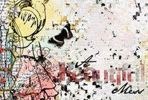 2014   My Digital Art Journaling / Layouts I made using Mixed Media / Art Journaling kinda stuffs / by Gloria Angeline