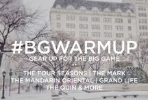 #BGWarmUp / The Big Game is coming to town!  Get Fashion City Secrets, style tips and more from a few of your favorite New York City names and places.  / by Bergdorf Goodman