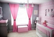 Nursery and Kid spaces / by Tiffanie