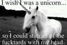 Unicorns! I believe... / Waving my dork flag high... / by Ninja Kitteh