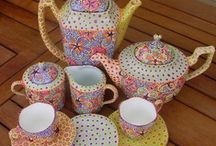 TEA POTS  and HANKIES / by Barbara Gilden