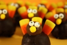 Fall (Halloween/Thanksgiving) Treats & Crafts / Stuff for Halloween or Fall / by Rita Edwards