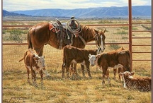 Cowboys / by Randy W Bounds