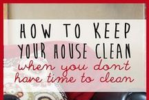 Thrifty Cleaning / ,making your own cleaners, simple ideas to keep on top of cleaning / by Diann Thrifty Groove