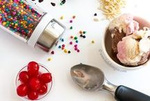 #IceCreamforOXO - Ice Cream Recipes / You scream, I scream, we all scream for Ice Cream! Check out these amazing ice cream recipes for summer entertaining, weekend relaxing, afternoon cravings, or even just a quick midnight snack, featuring some helpful OXO tools. / by OXO
