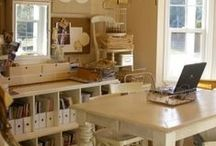 Craft/Office Room Ideas / by Diann Thrifty Groove