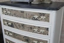 furniture makeovers / by Diann Thrifty Groove