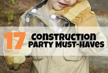 •Construction Party• / With a 3 year old boy a construction party is a must for his 4th birthday  / by Cynthia Graves