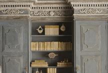 Bookshelf Decor / by Kathy Conrad