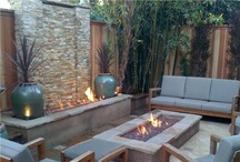Outdoor Fire Features / by Kathy Conrad