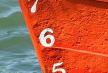 ~Nautical & Royal Orange~  / Koninklijk oranje met een nautisch tintje / by Kids Watersport