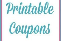 Printable Coupons / by Life of a Southern Mom