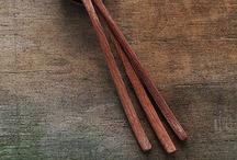 wood / by Sif S. Stewart-Ferrer