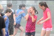 Totus Tuus camp makes a splash with kids / Hundreds of students entering first-through-sixth grades, including 84 at St. Charles Borromeo in St. Anthony, are learning more about their faith this summer by participating in Totus Tuus camps. / by Catholic Spirit