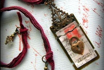 Jewelry Portals, Reliquaries, and Shrines / Inspiring mixed-media jewelry~layered metal, glass, beads, and jewelry findings; a keepsake for wearable personal relics. / by Rings & Things