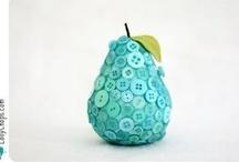 BUTTONS  ♥ KNOPEN / button crafts ideas knopen cadeautjes ideeen / by Doedelie ♥♥ DUTCH ♥♥♥♥♥