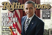 People / Rolling Stone Interview with Barack Obama / by Fernando Z
