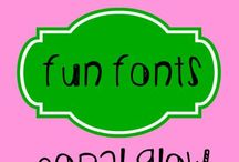 Fonts / by Whitney Hayes Shaw