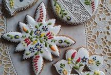 Artistic Cookies / Cookies, design, art, icing, decorations, baking / by Jess M