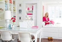 Home Offices / Great Home Offices for both small and large spaces / by Marker Girl | Karen Davis