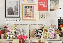 home: living / by Gwen Hefner