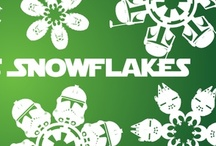 Star Wars Snowflakes / {Download Free Star Wars Snowflake Templates} / by Matters of Grey