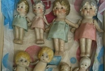 Dolls - Vintage / I have been a doll collector for about 13 years. I have had some amazing dolls, some I still have, some who have chosen new parents. I want to share some of my favorites with you. / by Pepper Spray Etc. Store