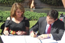 Mérida, Yucatán, Mexico / On December 19, 2010, Mérida, Yucatán, Mexico was twinned with Sarasota. Mayors Angélica Araujo Lara of Mérida and Kelly Kirschner of Sarasota signed the official twinning documents in the Courtyard of the John and Mabel Ringling Museum of Art.   / by Sister Cities Association of Sarasota