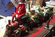 Misadventures of Fizzbee the Elf / Elf on the Shelf ideas / by Dan Tanzer
