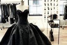 "back in BLACK  / ""We wear Black, until something darker comes along"" / by Maryann Wohlwend"