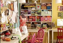 Craft Room Ideas / by mommy is coocoo