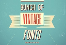 Design: Typography / The art of words and design. / by blind study