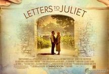 Letters to Juliet / Inspiration to complete a scrapbook layout that reflects the mood, and feel of the story by the use of colors, patterns/textures, fonts, words or phrases, and anything else that relates to that story/genre/time period/etc.  / by Andrea Fisher