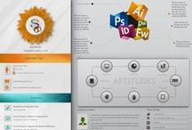Curriculum Vitae Creativi / Una collezione di curriculum vitae creativi per creativi, grafici e web designer / by robadagrafici .com