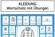 Wortschatz / Vocabulary / by Stephany Koujou