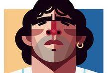 Illustrazioni Sport / Una piccola collezione di illustrazioni sportive / by robadagrafici .com
