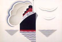 Affiches Vintage Viaggi / Una collezione di illustrazioni vintage dedicate al viaggio / by robadagrafici .com