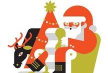 Grafica di Natale / Una collezione di immagine, grafiche e foto a tema natalizio da cui prendere ispirazione / by robadagrafici .com