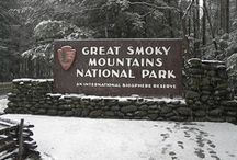 """Great Smoky Mountains / The Great Smoky Mountains - in my """"backyard"""" / by RondaKay RHIT"""