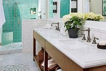 HOME bathrooms / by A Simple Pantry