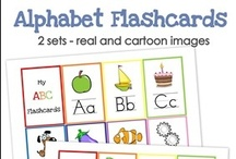 ABC Alphabet Ideas for Early Childhood / Alphabet ABC learning ideas, activities, and printables for early childhood  / by Homeschool Creations