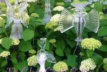 Glass Totems & Flowers / by Mary K. Peterson