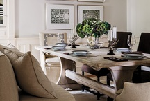 Delicious Dining Rooms / Dining rooms that are as delicious as the meals you could enjoy in them. / by Megan Morris