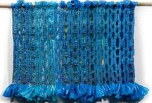 Plarn and plastic bag crafts / Plastic bag crafts! / by Hannah