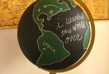 Globes make the world go round! / by Teresa Lewis