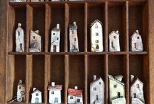 Printers Blocks Trays / A wonderful way to create collections with a range of objects. I love these / by Anita Russell