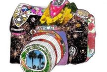 Camera Creations / Illustrations and art using the camera as subject / by Anita Russell